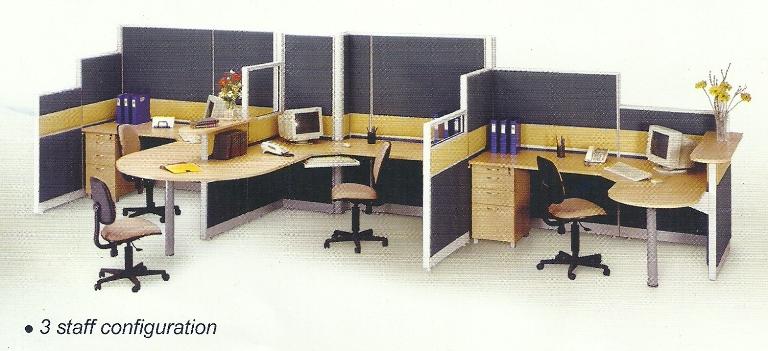 Partisi-Kantor-uno 3 staff