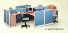 Partisi Kantor Uno 4 Staff
