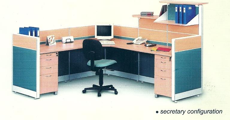 Partisi-Kantor-uno sekretaris