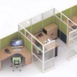 Partisi Kantor Uno 10 Series Premium 3 Staff 300x201 150x150 - UNO Office Partition