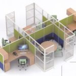 Partisi Kantor Uno 12 Series Premium 4 Staff dan meting 300x232 150x150 - UNO Office Partition