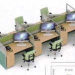 Partisi Kantor uno 03 Series Slim 6 Staff 150x150 - UNO Office Partition