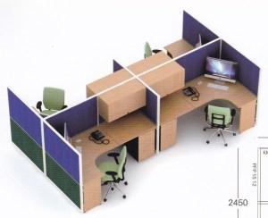 Partisi kantor 4 staff 300x244 - Partisi Kantor Uno Series Premium 4 Staff