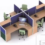 Partisi kantor uno 4 Staff 300x221 150x150 - UNO Office Partition