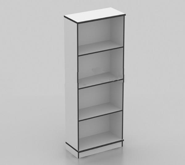 furnitur ruang kerja rumah uno classic series lemari arsip tinggi 4 ruang tanpa pintu termasuk afron tipe ust 1580 b  - Lemari Arsip Tinggi Uno UST 1580 B