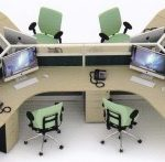 Partisi Kantor Uno Series Premium 6 Staff