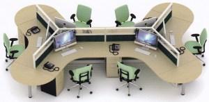 Parisi Uno 6 Staff Hadap 300x147 - Partisi Kantor Uno Series Premium 6 Staff