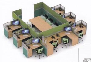 Partisi Kantor Uno 06 Series 06 8 Staff dan ruang Rapat 300x207 - Partisi Kantor Uno 06 Series Slim 8 Staff Dan Meting