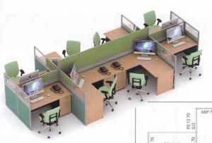 Partisi Kantor Uno 07 Series slim 8 Staff 300x203 - Patisi Kantor Uno 07 Series Slim 8 Staff