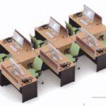 Partisi Kantor uno 08 Series Slim 06 Staff 300x240 150x150 - UNO Office Partition