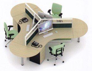 Partisi Kantor Uno Series Premium 3 Staff
