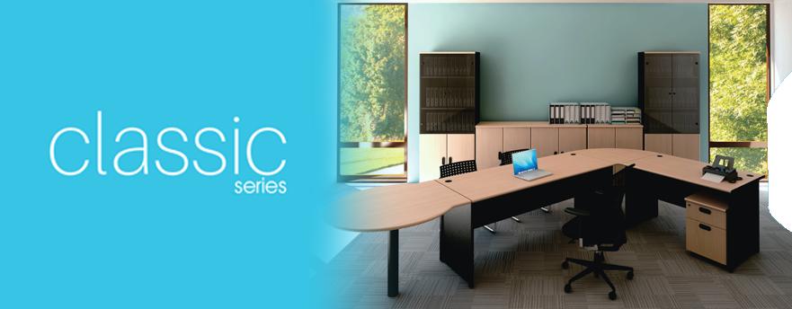Uno Clasic Series - Jual Meja Kantor Kerja di Bogor