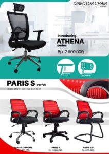 Kursi Kantor UNO Athena Paris S 212x300 - Jual Kursi Kantor UNO di Jakarta Selatan